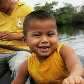 Rencontre avec la famille de Guacamayo