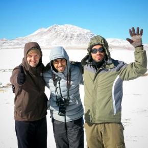 Rencontres avec Fabio, Rodrigo & Claudio, Compagnons de voyage Brésiliens