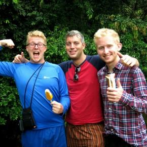 Rencontre avec Richard, Murray & Neil, Écossais culottés